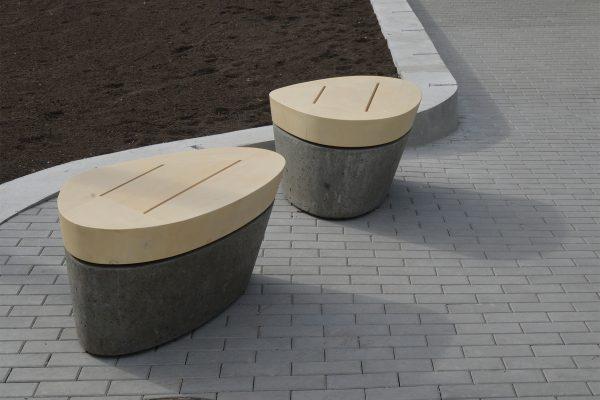 Grosvenor Edgemont Seaglass benches