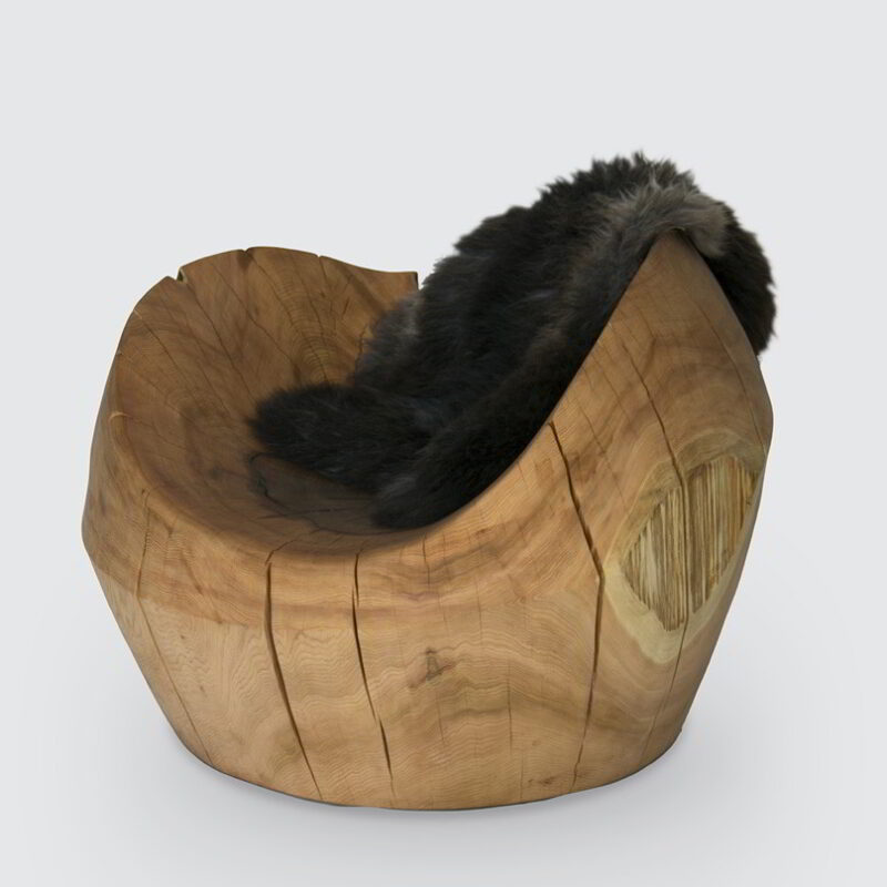 The Nest chair against a white background.
