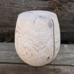 Western red cedar 'Almost Perfect' T-Cup, treated with Sioo:x light gray.
