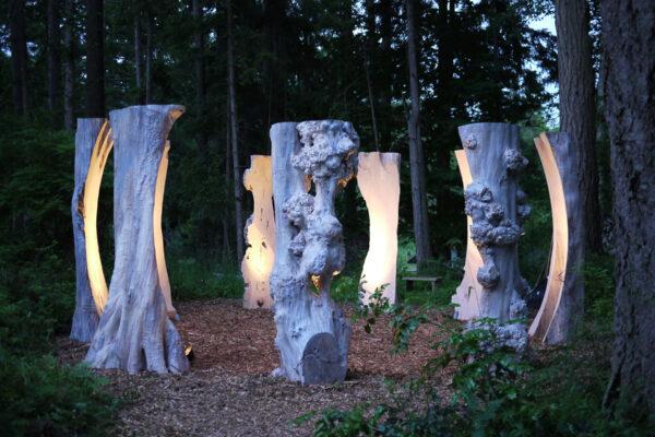 Van Dusen outdoor installation art sculpture-web